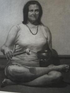 Self Portrait with Tibetan Bowl